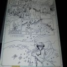 Original BLACK ORCHID Comic Book Art issue #10, pg. 19 Rebecca Guay