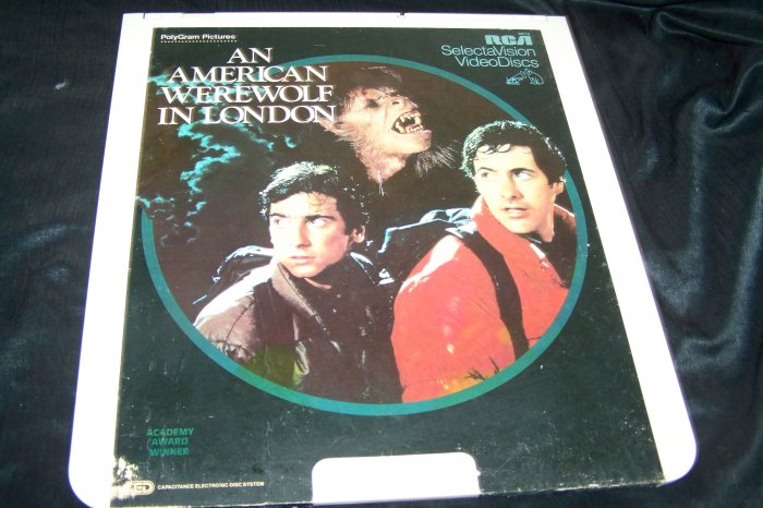 Vintage An American Werewolf In London CED Videodisc Video Disc Movie