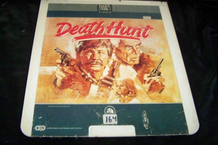 Vintage Death Hunt CED Videodisc Video Disc Movie