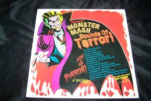 Vintage 1974 Halloween Monster Mash Sounds of Terror Pickwick SPC-5104 LP Record