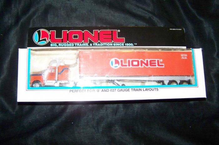 Vintage 1989 Lionel Tractor Trailer MIB New O Scale 6-12725