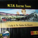 "1995 MTH Rail King Electric Trains Promo Ad 38"" Poster"
