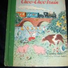 Vintage The Choo-Choo Train. a Bonnie Book Illustrated By Oscar Fabres