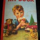 Vintage 1963 MY BOOK Hampton Cloth Washable Book