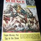 Vintage POPULAR SCIENCE Magazine Panoramic Movie Aug 1950