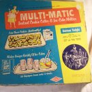 Vintage 1960s Wecolite Multi-Matic Instant Cookie Cutter and Ice Cube Molder with Box