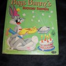 Vintage Bugs Bunny's Birthday Surprise Tell-a-Tale Whitman Book by Theresa