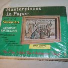 Vintage Masterpieces Shadow Art 3d BOOK SHOPPE Shop New Mint Kit