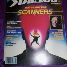 Vintage STARLOG Magazine February 1981 #43 Scanners, Space Patrol, The Incredible Hulk, Popeye