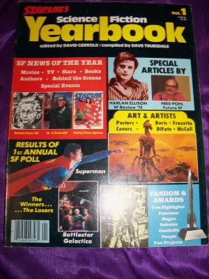 Vintage STARLOG Magazine Science Fiction Yearbook 1979