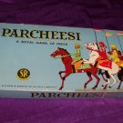 Vintage PARCHEESI Selchow & Righter Board Game Royal Game of India