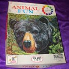 Vintage Compton's Pictured Encyclopedia ANIMAL FUN Milton Bradley Children's Activity Card Game