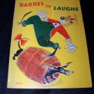 Vintage BARREL OF LAUGHS Edna Mitchell Preston Scholastic Book