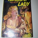 Vintage 1954 HOMICIDAL LADY Day Keene PB Mystery Book