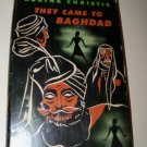 Vintage 1951 THEY CAME TO BAGHDAD Agatha Christie HC/DJ Book