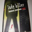 Vintage 1949 LADY KILLER George Harmon Coxe HC/DJ Mystery Book
