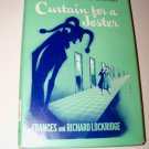 Vintage 1953 CURTAIN FOR A JESTER Frances Richard Lockridge DJ