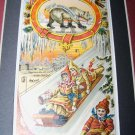 Victorian Trade Card Wales Goodyear Rubber Chromo Litho