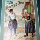 Antique Victorian Trade Card Van Houten's Dutch Cocoa