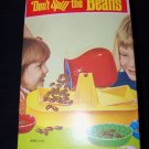 Vintage 1970 Don't Spill the Beans Cootie Scharper Toy Action Game