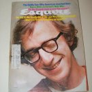Vintage ESQUIRE Magazine May 1975 Woody Allen, Vladimir Nabokov