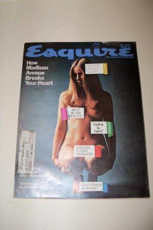 Vintage ESQUIRE Magazine July 1974 Madison Avenue Onassis