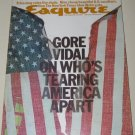 Vintage ESQUIRE Magazine May 1975 Gore Vidal Tina Turner