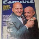 Vintage ESQUIRE Magazine September 1975 Telly Savalas