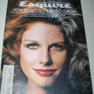 Vintage ESQUIRE Magazine April 1975 Sleep in Great Pyramid