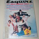 Vintage ESQUIRE Magazine December 1975 Great American Thing