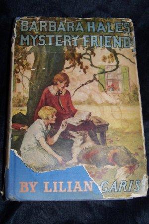 Vintage BARBARA HALES MYSTERY FRIEND Lilian Garis HC/DJ