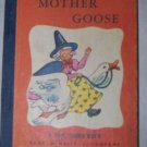 Vintage 1949 Mother Goose: a Tom Thumb Book Children's