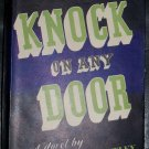 Vintage 1947 KNOCK ON ANY DOOR Willard Motley HC/DJ Book