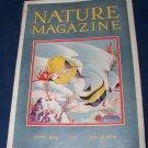 Vintage NATURE Magazine June 1929 vol 13 #6 Fish Cover