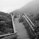 Block Island Southeast Beach Steps 8x10 Framed