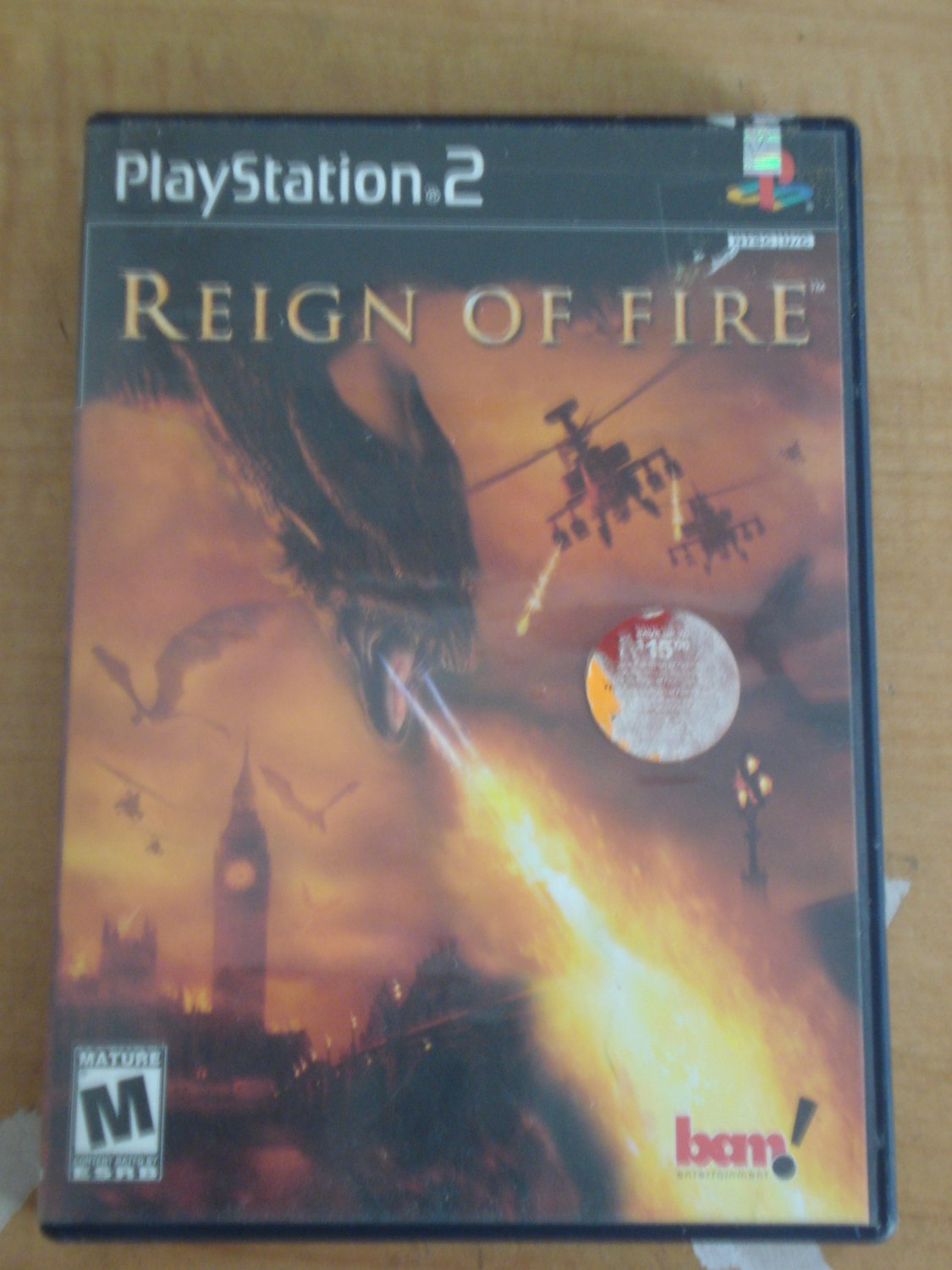 Reing of Fire video game