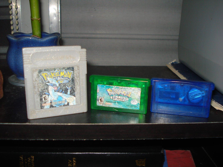 Game Boy Advanced Pakemon Games