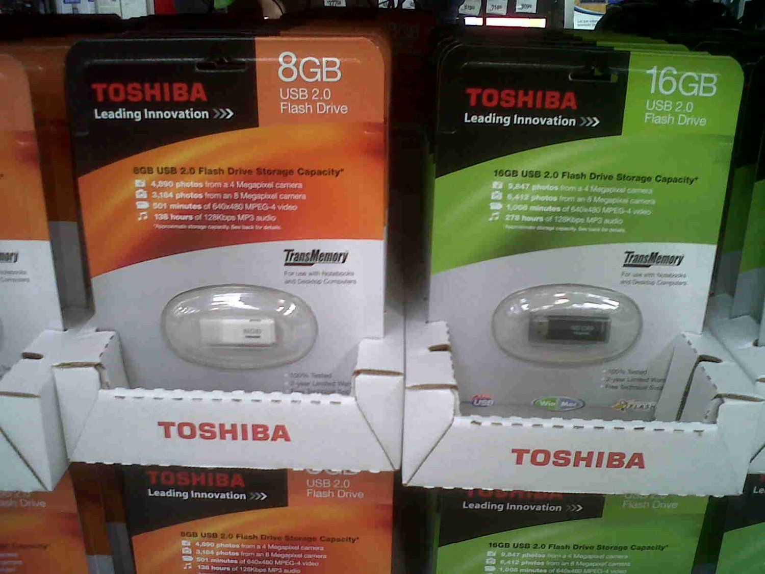 Toshiba USB 2.0 Flash Drive