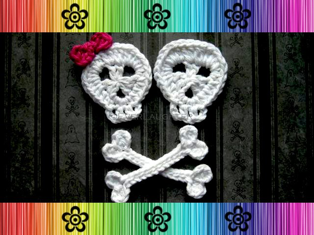 Skull and Crossbones Applique