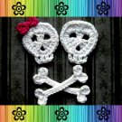 Skull and Crossbones Applique