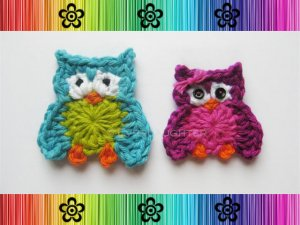 Oliver and Olivia Owl Applique Pattern