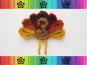 Turkey Applique Pattern