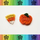 Pumpkin and Candy Corn Applique Pattern