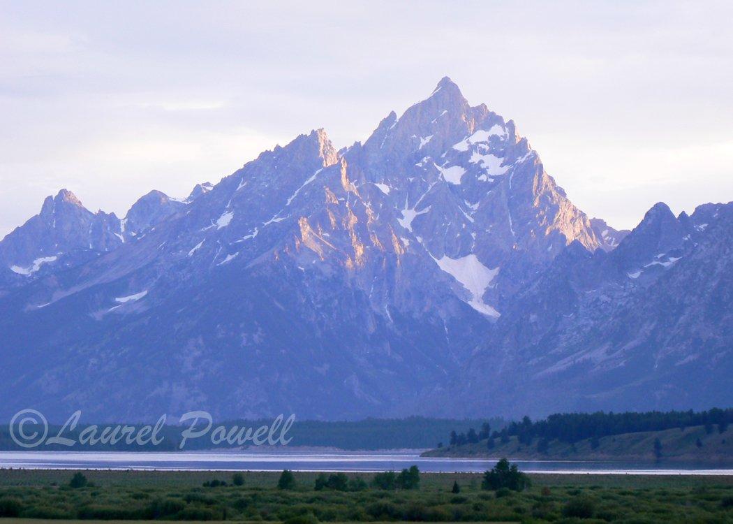 ACEO Grand Teton Sunset