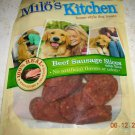 5 PACKAGES MILO'S KITCHEN SAUSAGE JERKY DOG TREATS NEW!