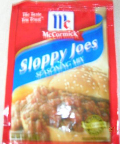 12 PACKS McCORMICK'S SLOPPY JOE SEASONING MIX PACKS