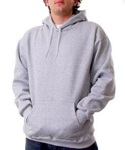 1 XL  PULLOVER HOODED SWEATSHIRT BRAND NEW  GRAY UNISEX