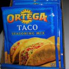 10 PACKS ORTEGA TACO  SEASONING  THINK 4th JULY PARTY