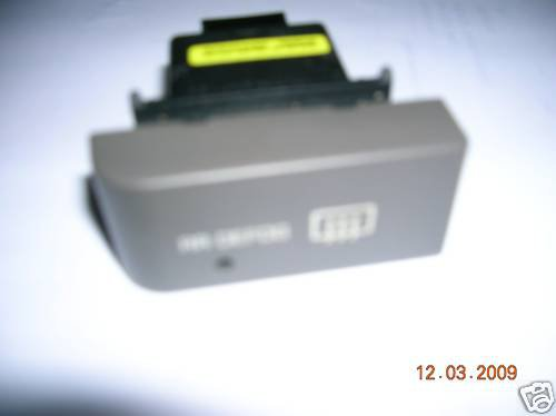1999 NISSAN QUEST DEFROST SWITCH OEM EQUIPMENT OBO