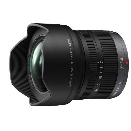 HF007014 Ultra Wide-Angle zoom lens LUMIX 7-14mm F4.0